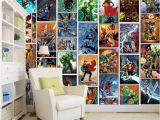 Marvel Comics Wall Mural Großhandel Klassische Marvel Ics Wallpaper Spiderman Iron Man Batman Mural Individuelle 3d Bilder Für Kinder Jungen Schlafzimmer Kindergarten