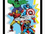 Marvel Superhero Wall Murals File Avengers attack Ic Book Cover Wall Art