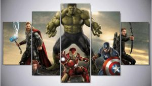 Marvel Superhero Wall Murals Movie Super Hero Avengers Marvel Canvas Wall Art In 2019