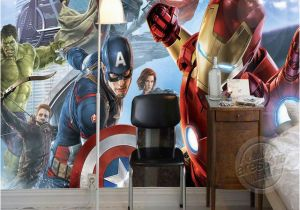 Marvel Wall Murals Uk Avengers Boys Bedroom Wallpaper Custom 3d Wall Murals Marvel