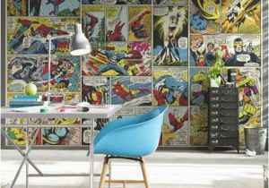 Marvel Wall Murals Uk Marvel Ic Heroes Wall Mural Marvel Transform Your Room with