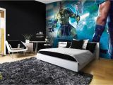 Marvel Wall Murals Uk Thor Ragnarog Giant Wallpaper Mural In 2019 Marvel Dc