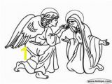 Mary and Angel Gabriel Coloring Page 26 Best Mary Queen Of Heaven Lapbook Images