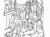 Mary and Joseph Coloring Page Christmas Story Coloring Pages 9
