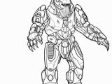 Master Chief Coloring Pages Halo Pictures to Print and Color
