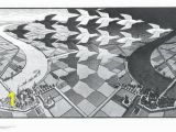 Mc Escher Wall Mural Affordable Geese Posters for Sale at Allposters