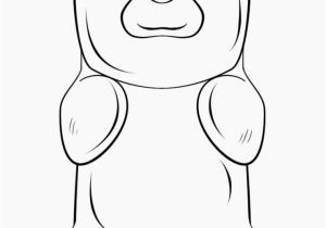 Mean Bear Coloring Pages Gummy Bear Coloring Page Coloring Pages Pinterest