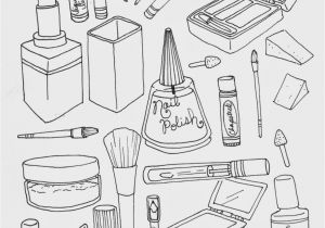 Medicine Bottle Coloring Page Makeup Colouring Sheets Google Search