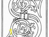 Medieval Illuminated Letters Coloring Pages Illuminated Letters Coloring Pages for the Middle Ages Will Make An
