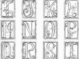 Medieval Illuminated Letters Coloring Pages Launching Me Val Illuminated Letters Coloring Pages Alphabet