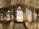 Medieval Wall Murals Ancient Stairs Wall Mural Architecture Old World Exquisitely