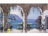Mediterranean Murals for Walls Mediterranean Arch Wall Mural