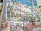 Mediterranean Tile Murals 84 Best Landscapes Tile Murals Images In 2019