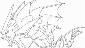 Mega Pokemon Coloring Pages Printable Mega Gyarados Pokemon Coloring Page