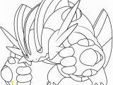 Mega Pokemon Coloring Pages Printable Mega Swampert Pokemon Coloring Page