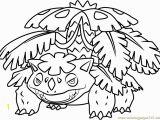 Mega Venusaur Coloring Pages Mega Venusaur Pokemon Coloring Page Free Pokémon Coloring Pages