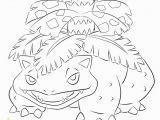 Mega Venusaur Coloring Pages Venusaur Coloring Page