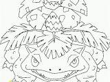 Mega Venusaur Coloring Pages Venusaur Free Pokemon Coloring Page Coloring Skin Care