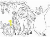 Melman Madagascar Coloring Pages 7 Best Ausmalbilder Madagascar Images