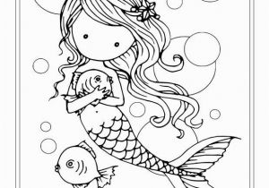Mermaid Coloring Pages Easy Free Coloring Pages