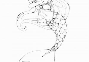 Mermaid Coloring Pages Easy Pin by Sweettea Blossom On My Home