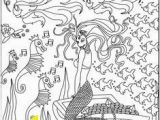 Mermaid Coloring Pages for Teens 17 New Boy Mermaid Coloring Page