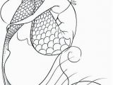 Mermaid Coloring Pages for Teens Mermaid Coloring Page 10 Coloring Pinterest