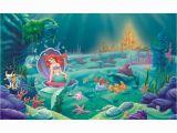 Mermaid Mural Ideas Disney S Ariel the Little Mermaid Xl Pre Pasted Surestrip Wall Mural