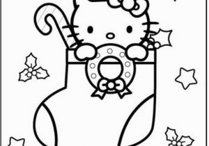 Merry Christmas Hello Kitty Coloring Pages Free Christmas Pictures to Color