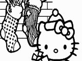 Merry Christmas Hello Kitty Coloring Pages Hello Kitty Many Gift In the Christmas Coloring Page