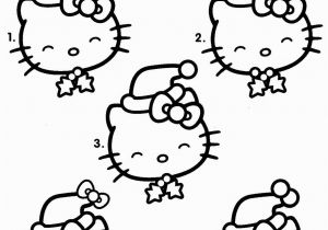 Merry Christmas Hello Kitty Coloring Pages Hundreds Of Free Printable Xmas Coloring Pages and Xmas