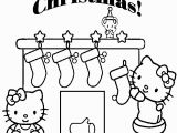 Merry Christmas Hello Kitty Coloring Pages Merry Christmas Coloring Pages