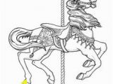 Merry Go Round Coloring Pages 119 Best Carousel Animal Coloring Pages Images In 2018