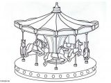 Merry Go Round Coloring Pages Merrygoround Google 検索 Circus Pinterest