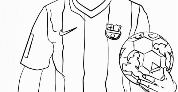 Messi Vs Ronaldo Coloring Pages Lionel Messi Coloring Page