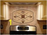 Metal Backsplash Mural 37 Best Backsplash Images