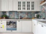 Metal Kitchen Backsplash Murals 13 Removable Kitchen Backsplash Ideas