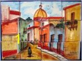 Mexican Mural Tiles 9 Best Tile Murals Prados Design and Mexican Tile and Stone Images
