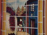Mexican Mural Tiles Mexican Style Mural Callejuela Mexican Hacienda