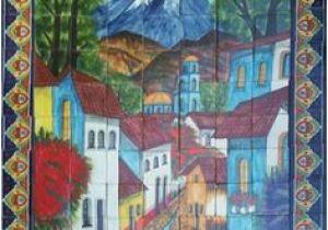 Mexican Tile Murals southwest 1380 Best Tile Murals Images In 2019