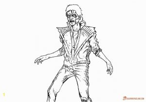 Michael Jackson Thriller Coloring Pages Michael Jackson Coloring Pages Thriller Bltidm