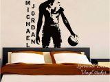 Michael Jordan Wall Mural Michael Jordan Basketball Spieler Wand Aufkleber Nba Super Star