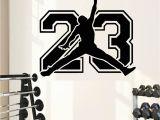 Michael Jordan Wall Mural Poomoo Michael Jordan Basketball Player Stickers Decorative Vinyl to