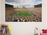 Michigan Stadium Wall Mural 137 Best Fatheads Images