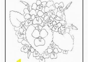 Michigan State Flower Coloring Page Michigan State Flower School Pinterest