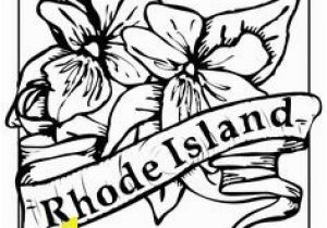 Michigan State Flower Coloring Page State Flower Coloring Pages West Virginia State Flower Coloring Page
