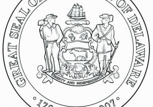 Michigan State Seal Coloring Page 21 Seal Coloring Pages Mycoloring Mycoloring