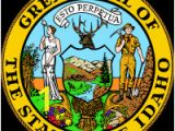 Michigan State Seal Coloring Page Flag and Seal Of Idaho