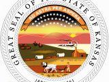 Michigan State Seal Coloring Page Kansas State Seal