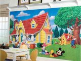 Mickey and Friends Wall Mural Pin by Debbie Jones On Dream House